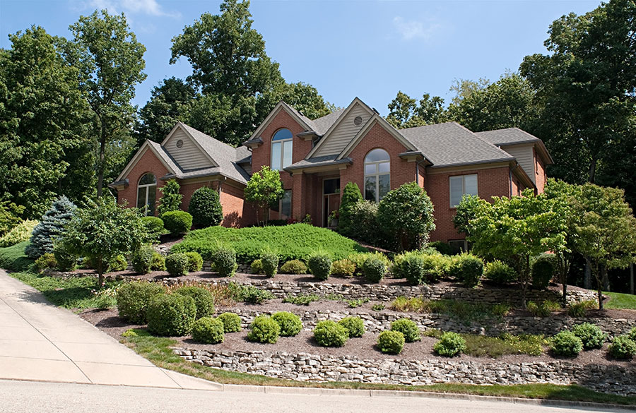 Increase your curb appeal with professional landscaping for Professional landscape design